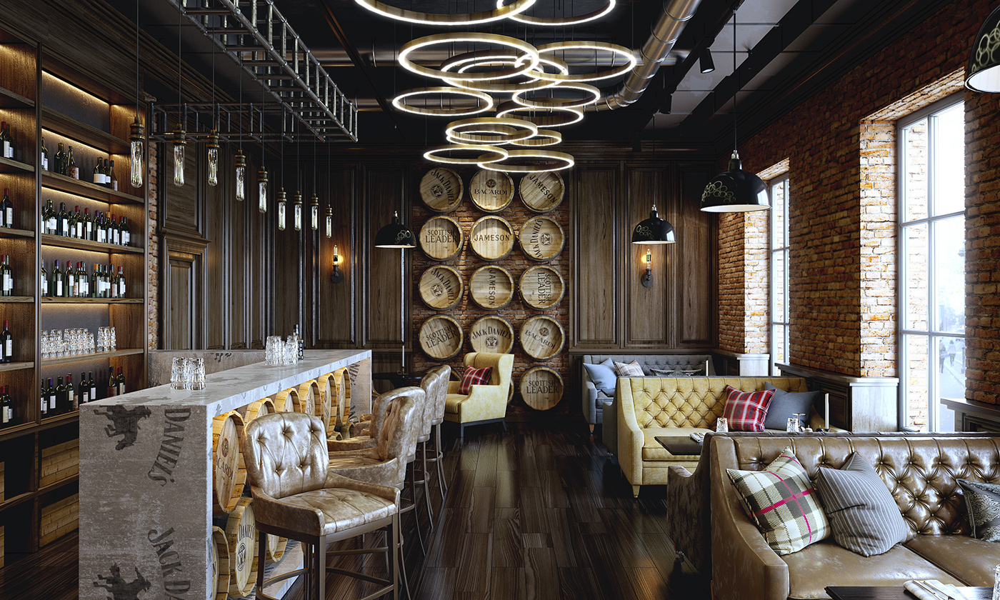 Bar Loft On Behance