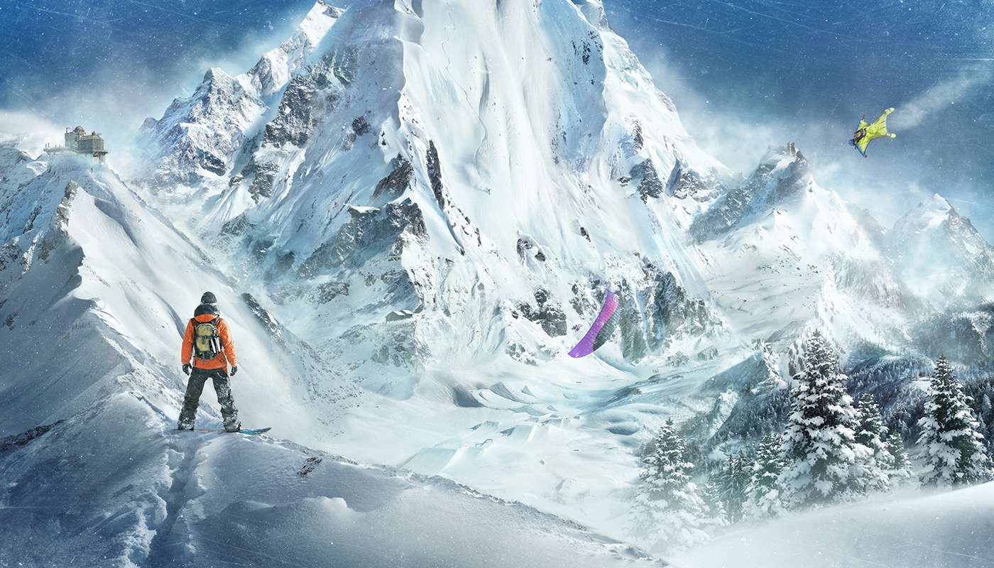 steep ubisoft mountain extreme sports snowboard Ski winter video game Olympics pyeongchang