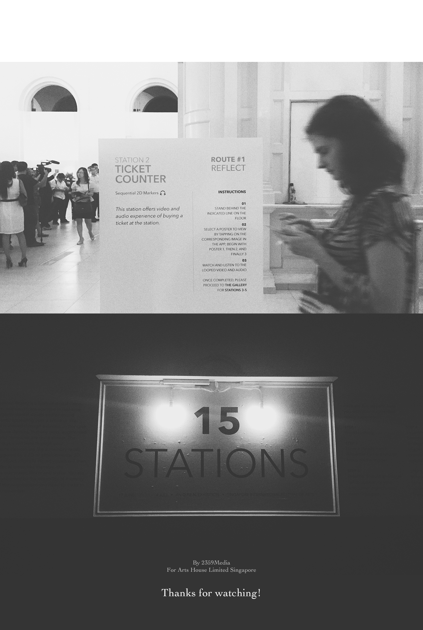 sifa SIFA 2015 the O.P.E.N. tanjong pager railway STATION railway station 15 stations Singapore International Festival of arts