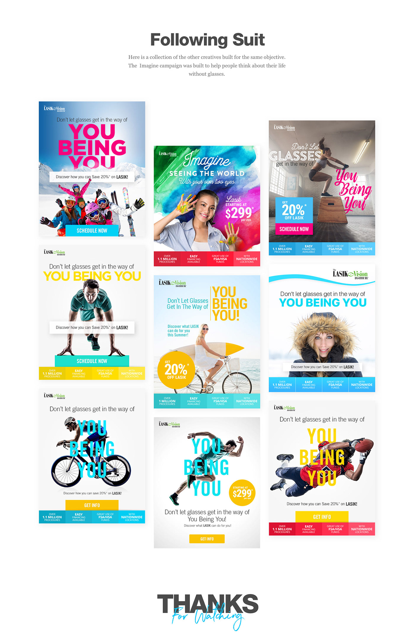 lasik Email marketing   email creative Lasik Vision UI/UX brand