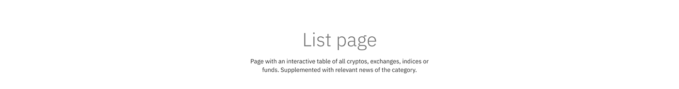 crypto cryptocurrency Fintech blockchain media traiding cryptotraiding ux UI financial