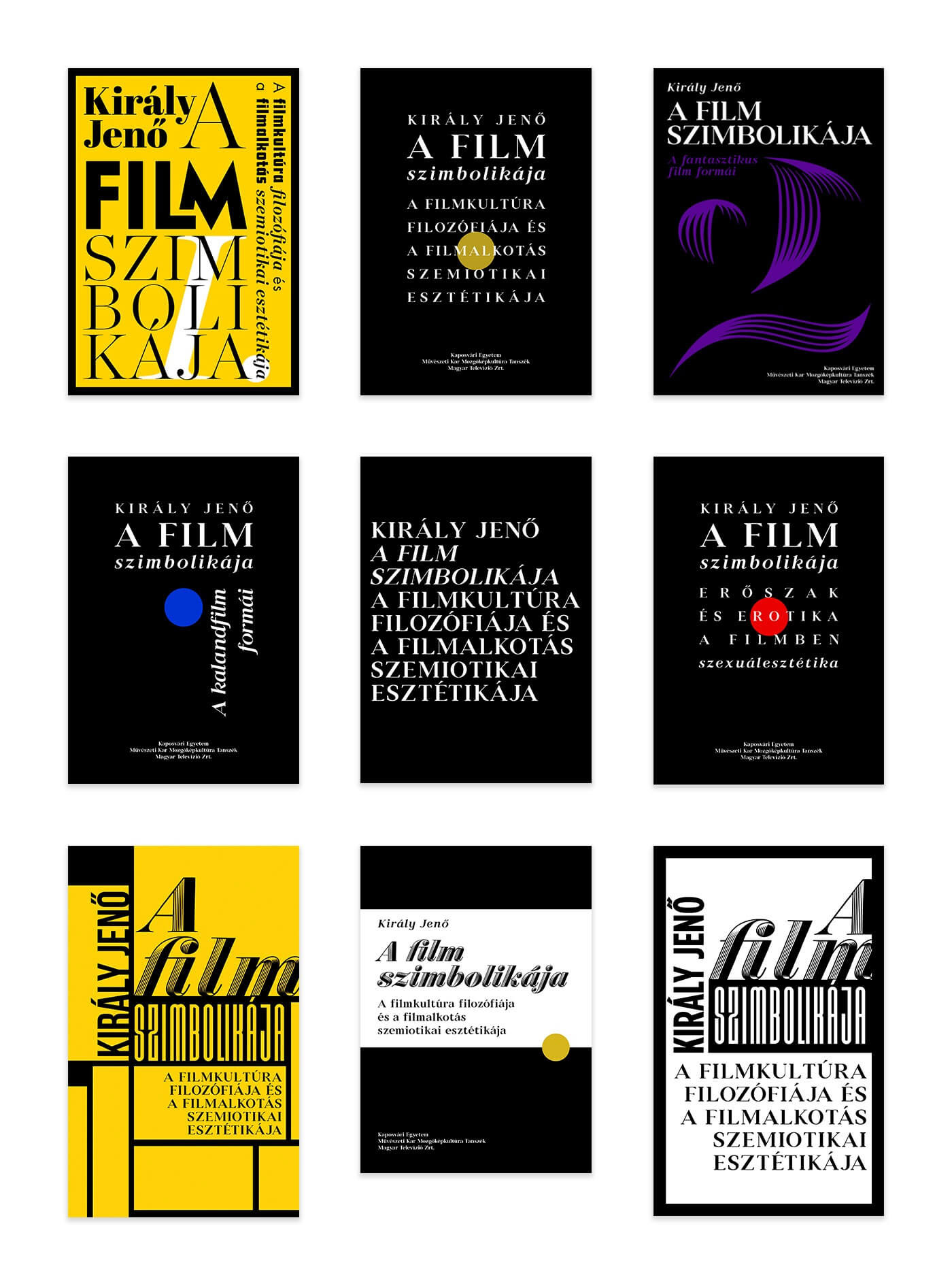 film theroy,Cinema,movie,typography  ,University,graphic design ,book cover,redesign