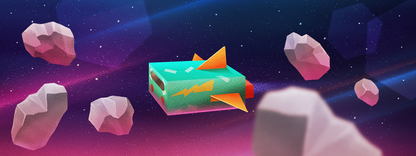 adventure family Space  animation  art concept motion spaceship ILLUSTRATION
