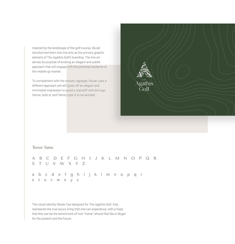brand identity branding  golf course logo moodboard Nature property Residence topography visual identity