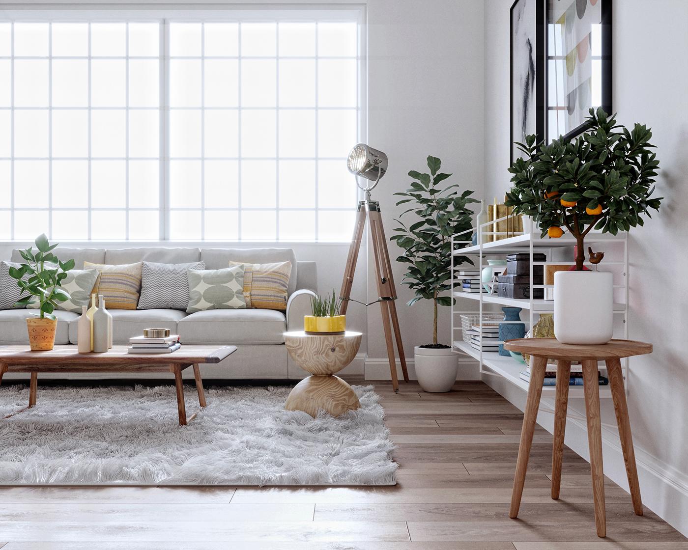 高質感的20個客廳主牆顏色欣賞