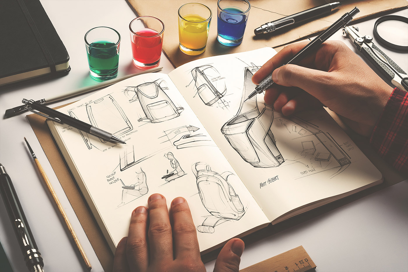 картинки как нарисовать дизайнера