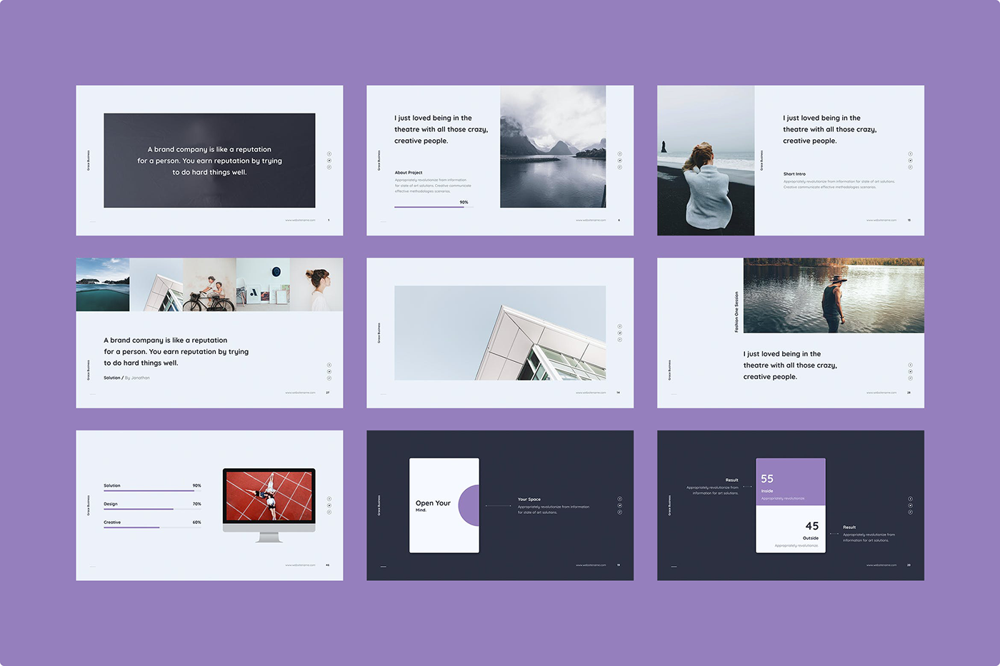 Notify - Animated & Creative Presentation Template (KEY) - 8