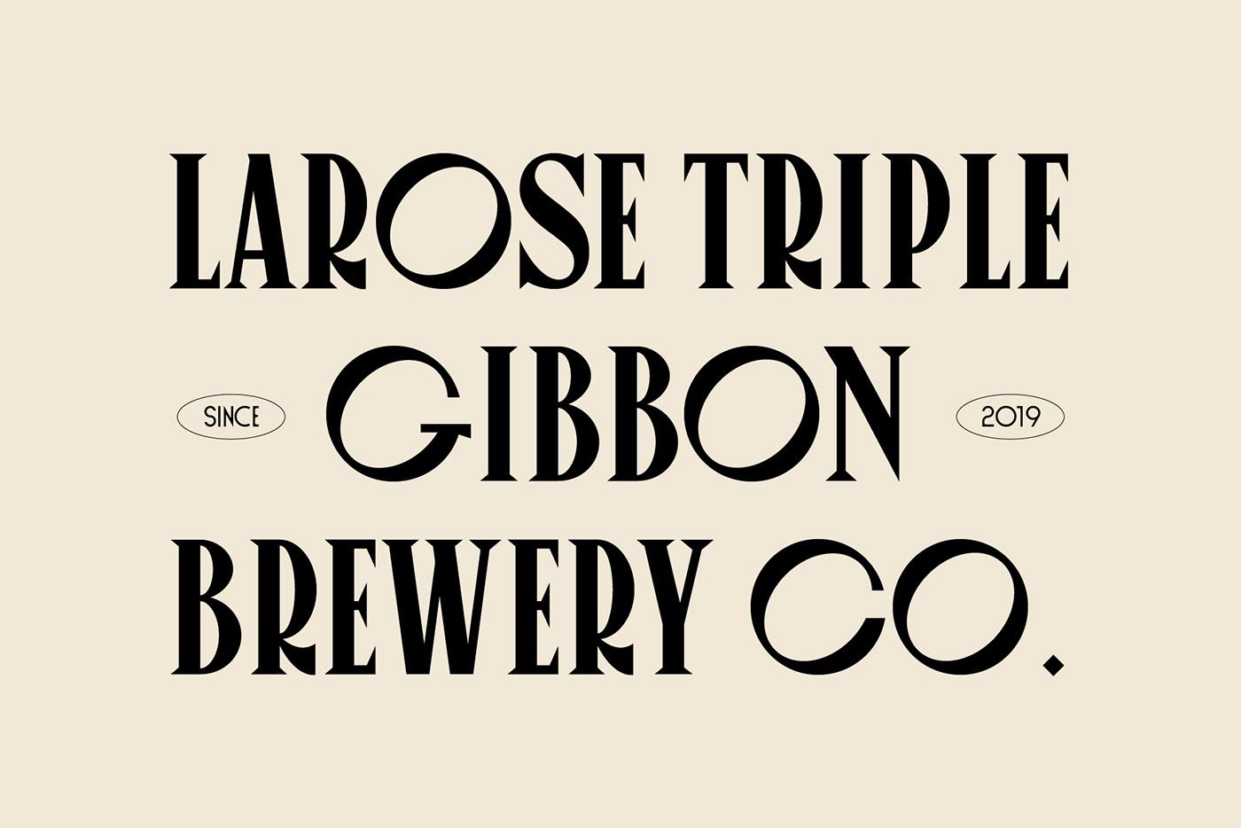 art direction  brand branding  design font graphic design  identity print typography   beer