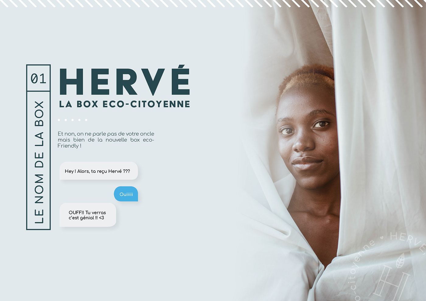 box branding  eco-citoyen green responsable