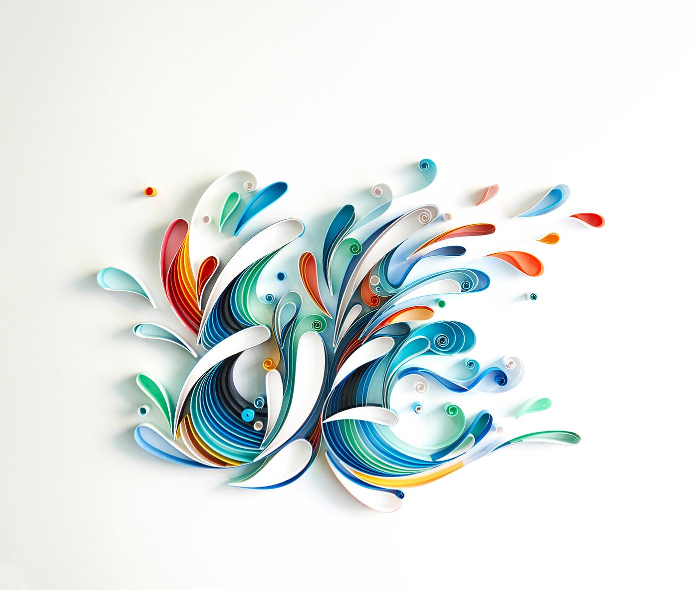 有創意感的27套立體紙雕作品欣賞