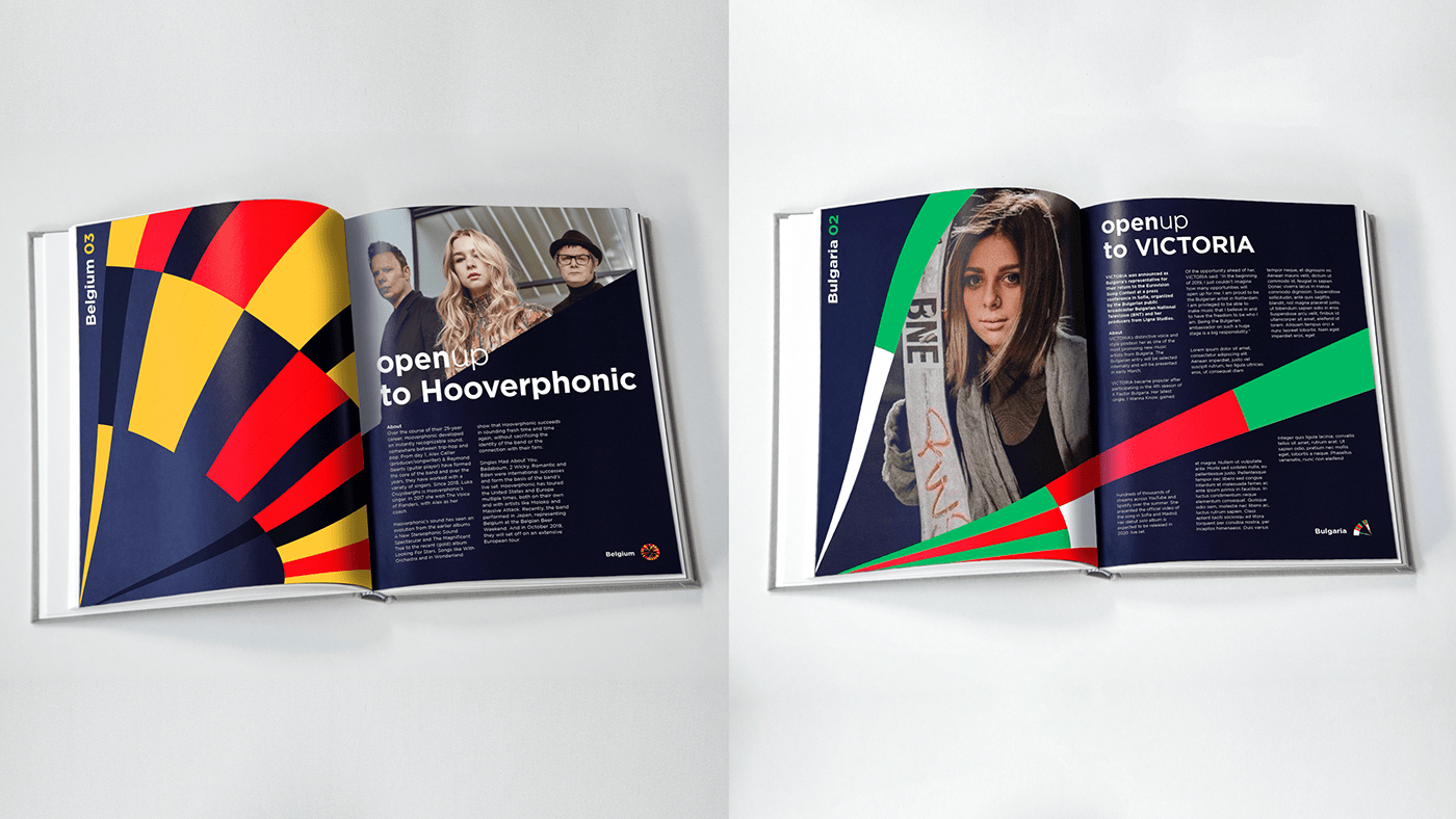 Eurovision 2020 booklet