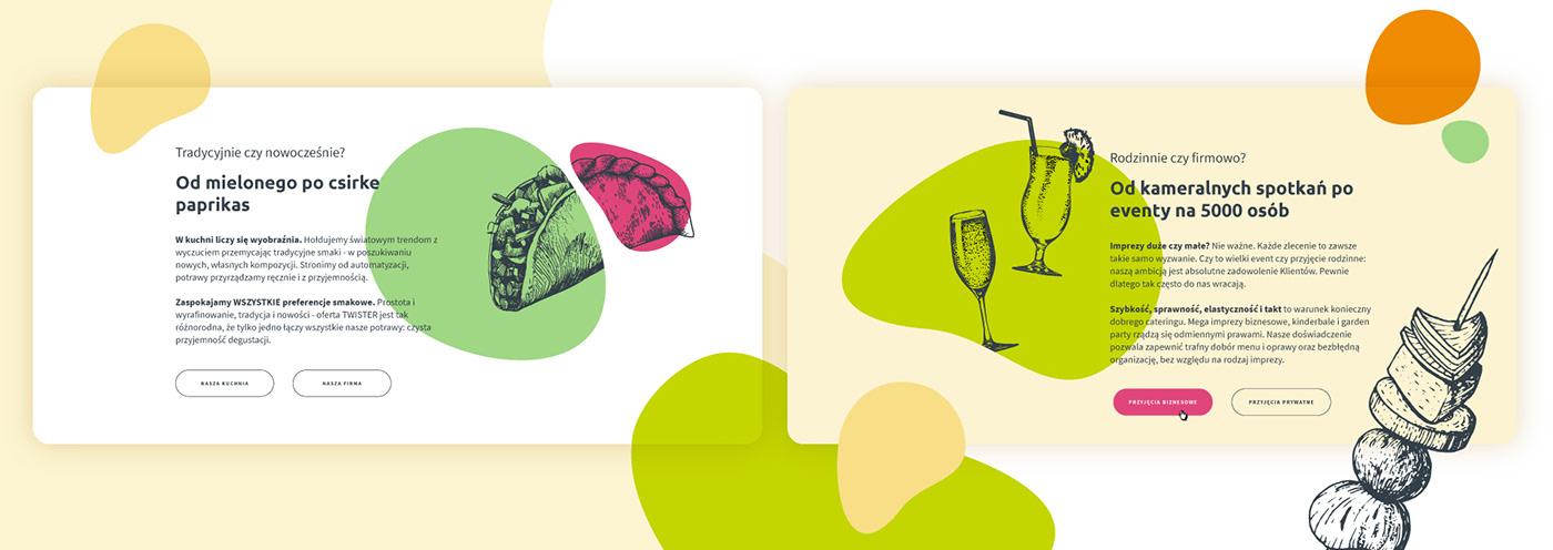 catering identity logo print Web
