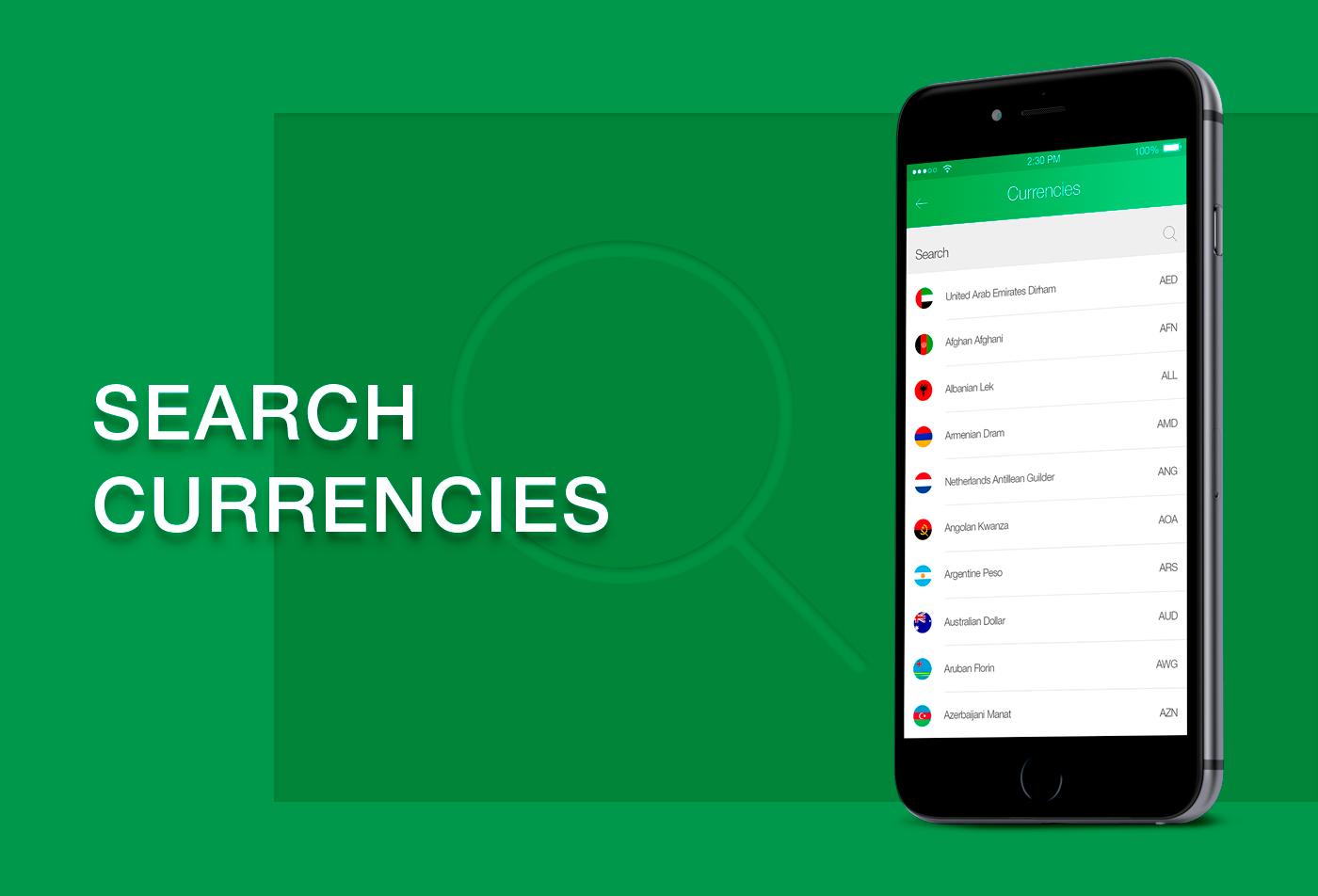 Currency Converter UI/UX prototype Mobile app interactive prototype