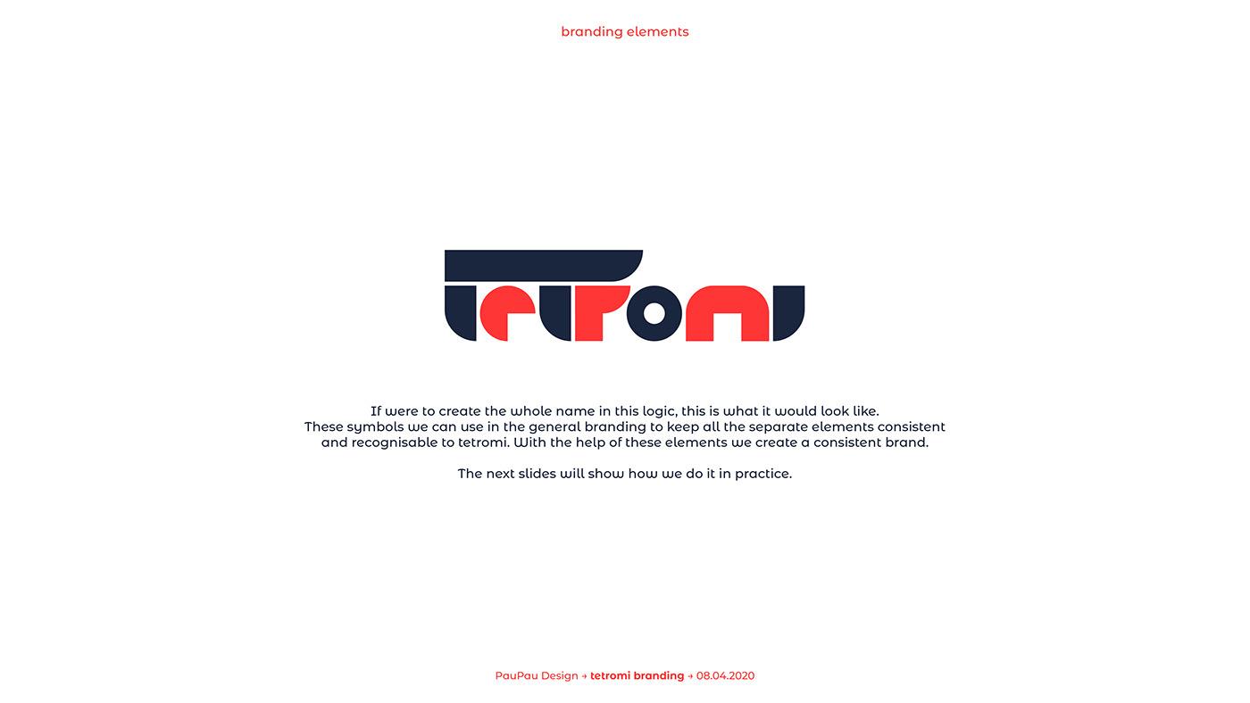 brand identity branding  Branding Concept corporate graphic design  Identity Design logo Logo Design shipping tetris