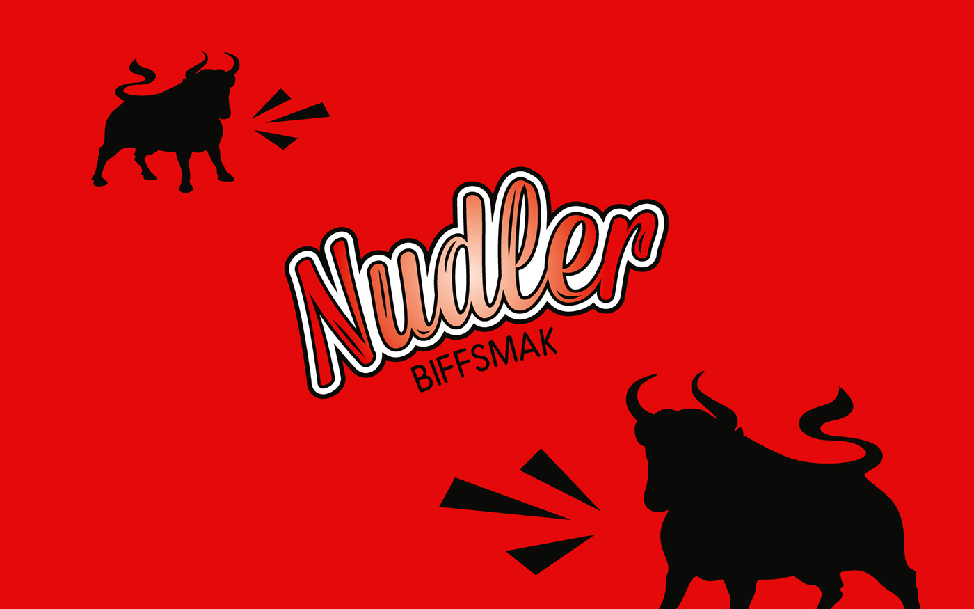 norway rema 1000 noodles beef chicken fjeldheimpartners concept logo identity
