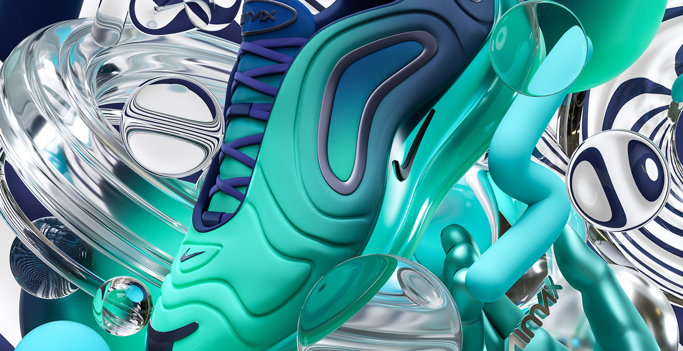 Nike X JD Air Max 720 on Behance