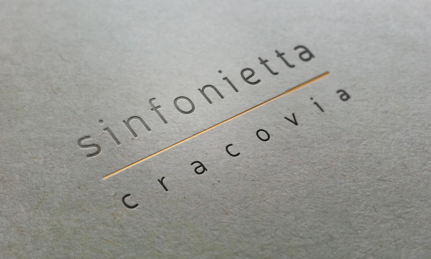 logo design logodesign SINFONIETTA Cracovia orchestra brndv brandovo logos logotyp