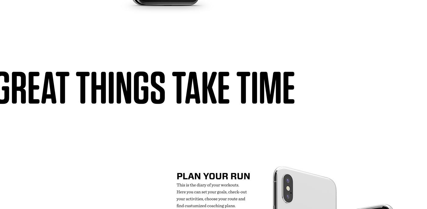 MadeWithAdobeXd UI ux app interaction running RunningApp lifestyle UserInterface applewatch