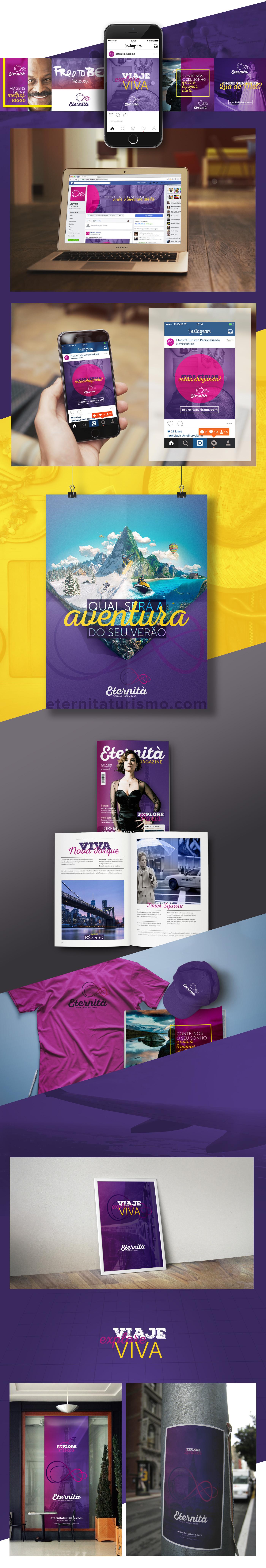 turism,eternita  ,design,branding ,trip,explore,agency,Turismo,viagem,rede social