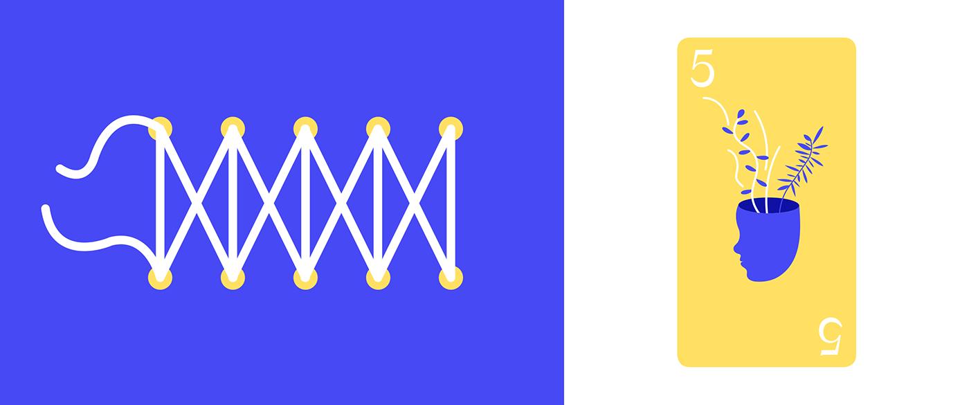 design,cards,game,tarot,ILLUSTRATION ,branding ,colors