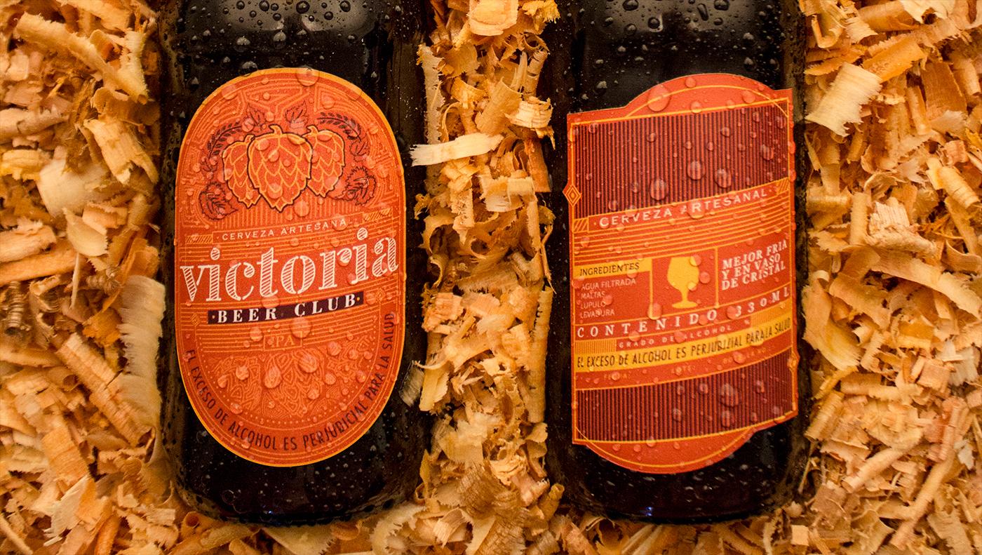Label beer design beer etiqueta artesanal craft colombia