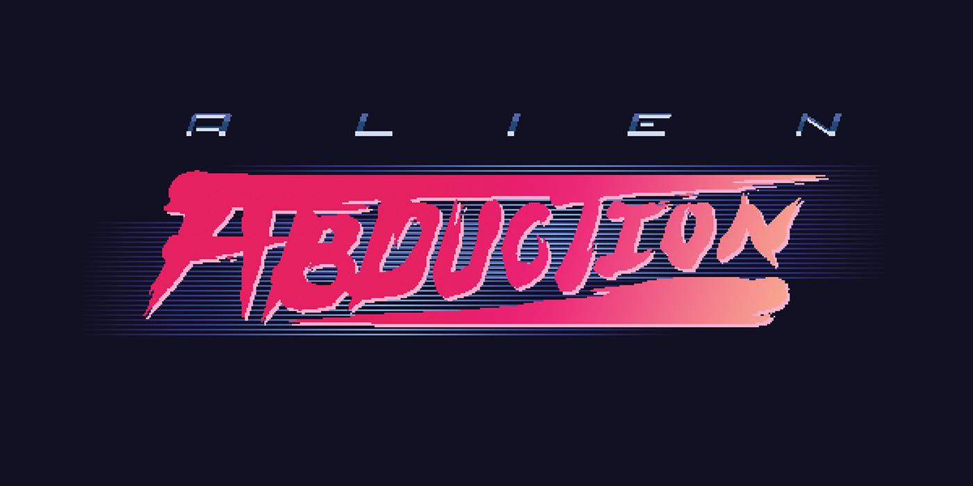 Retro logos 90s 80s