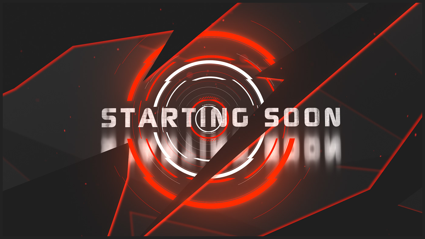 animation  Overlay screen Twitch