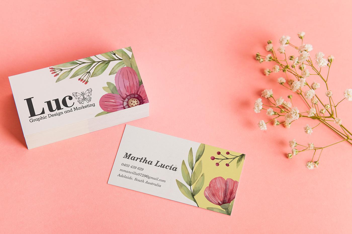 Для, открытка визитка для цветов