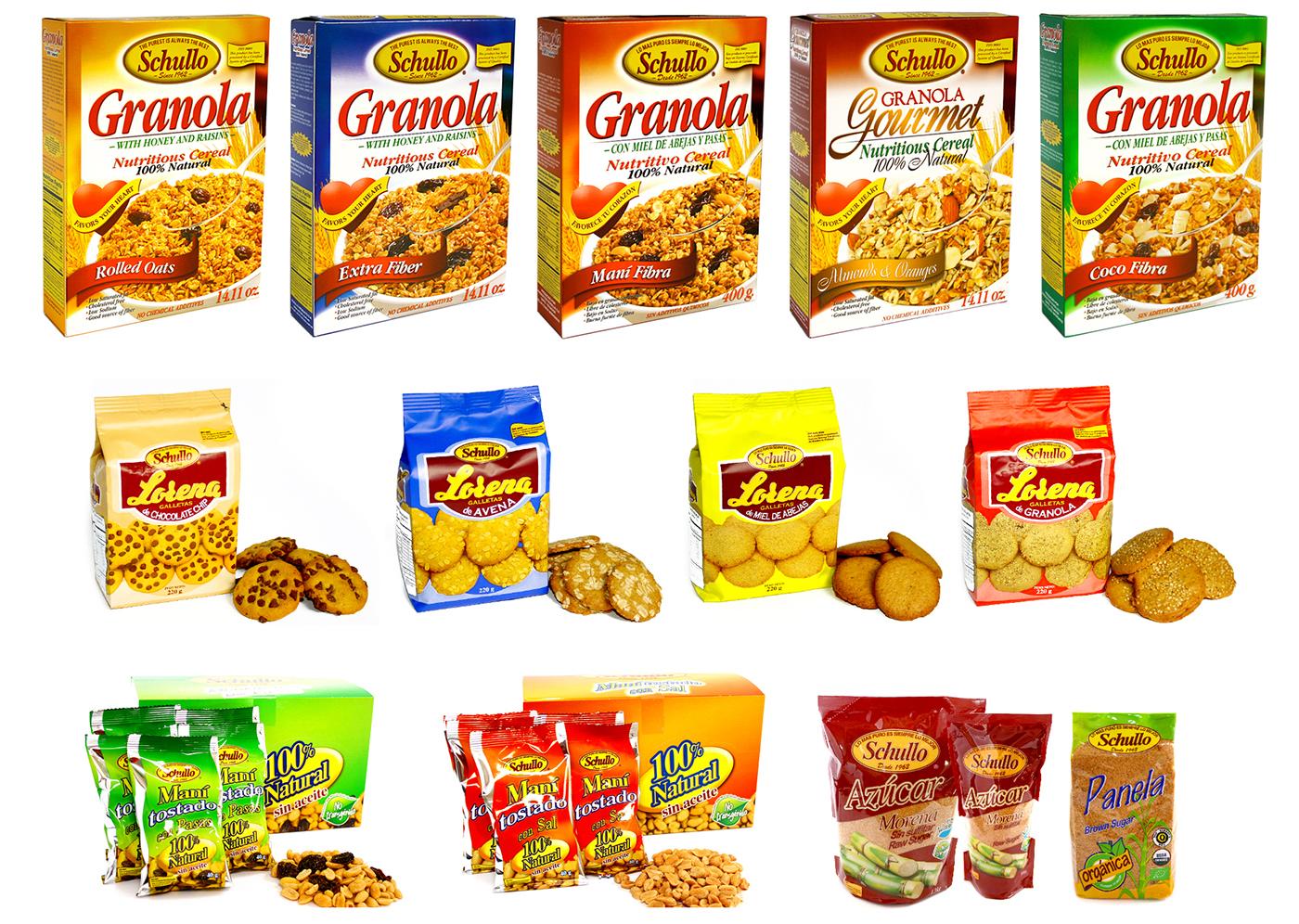 empaques marcas brandings Ecuador quito guayaquil logos granola Natural products packing