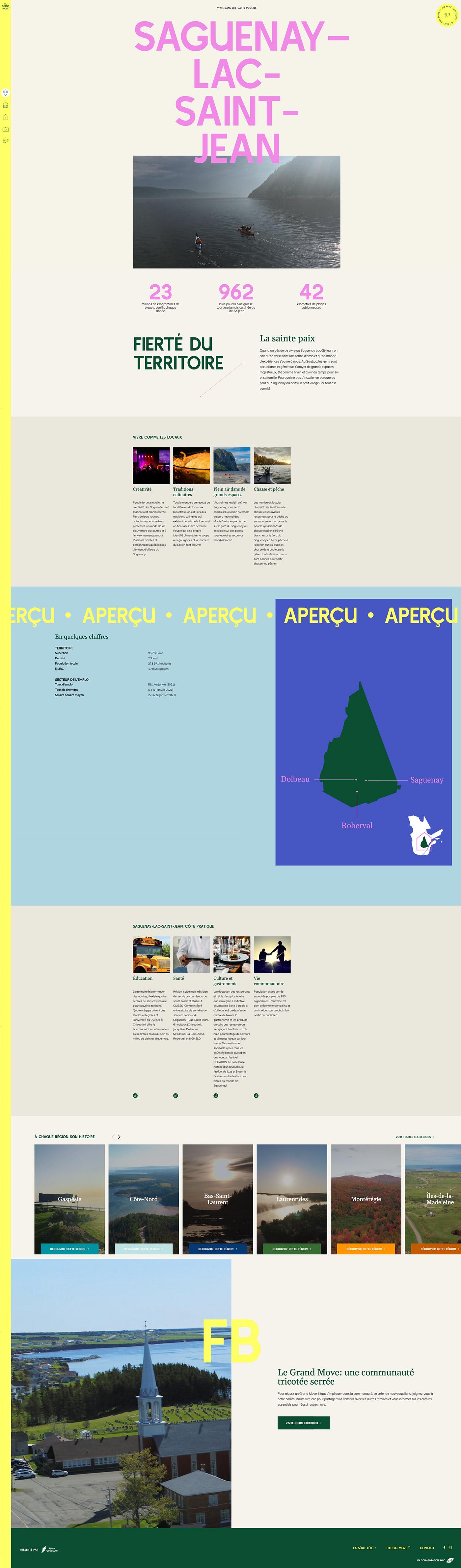 Montreal St-henri UI ux Web Design  interactif interactive