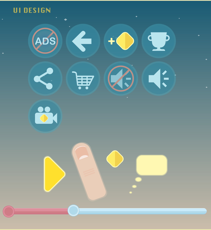 Game Art animation  UI UI/UX ILLUSTRATION