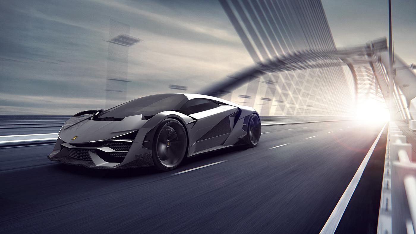 Lamborghini Trono on Behance