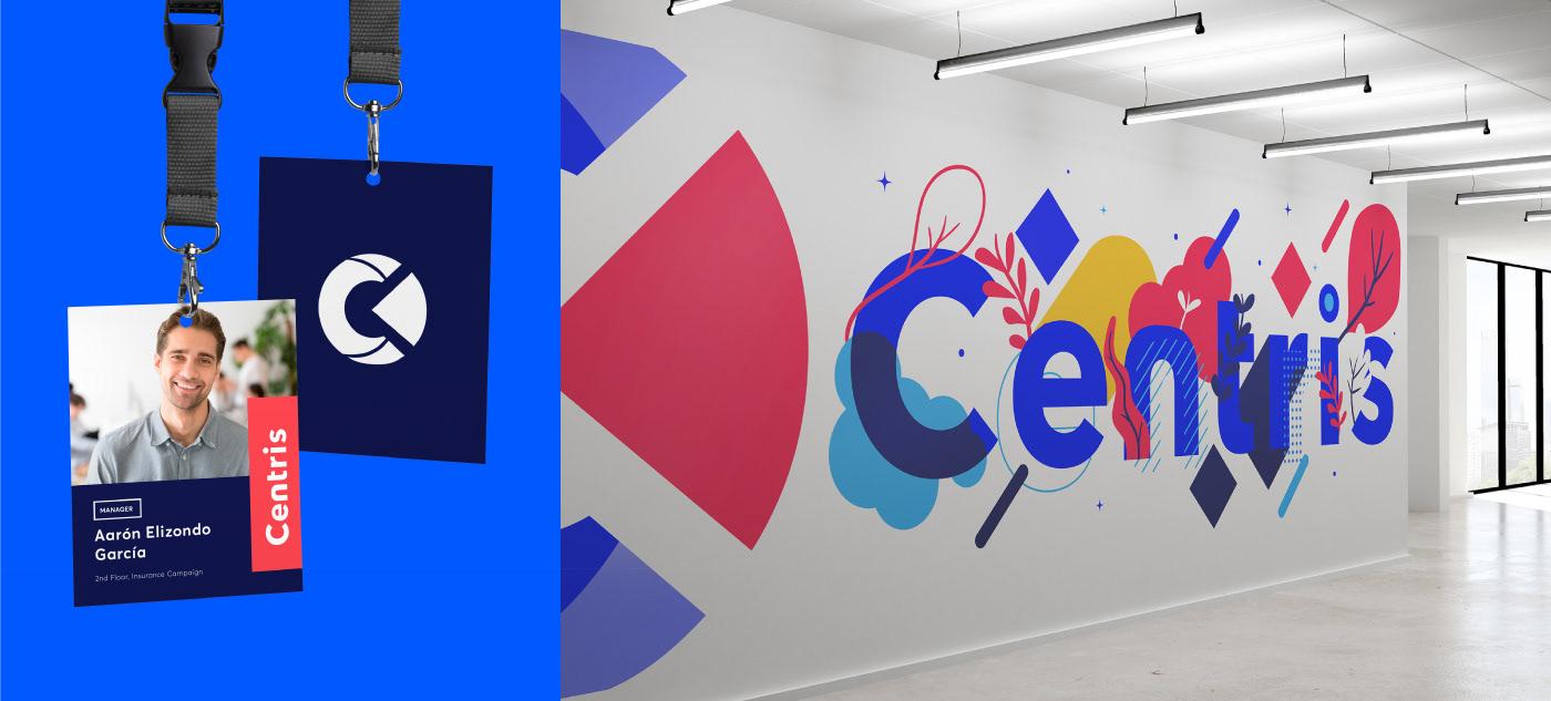 branding  call center Mural