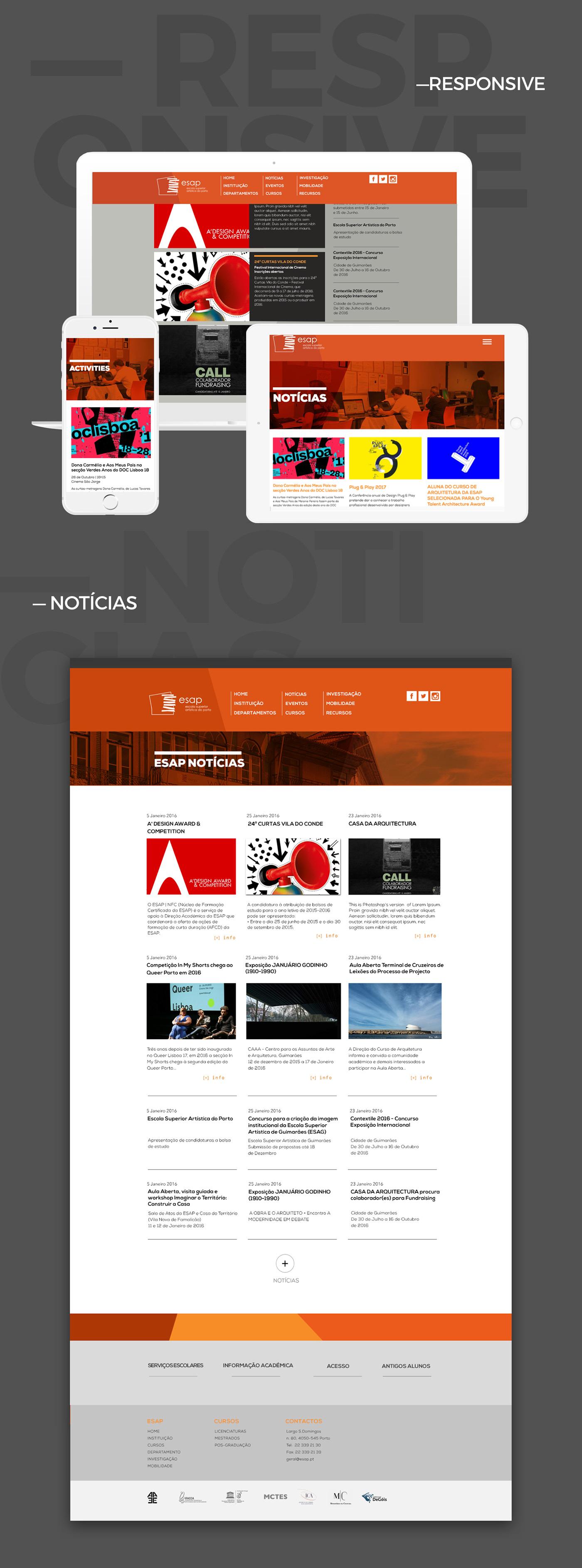 Web Website UI/UX design Interface
