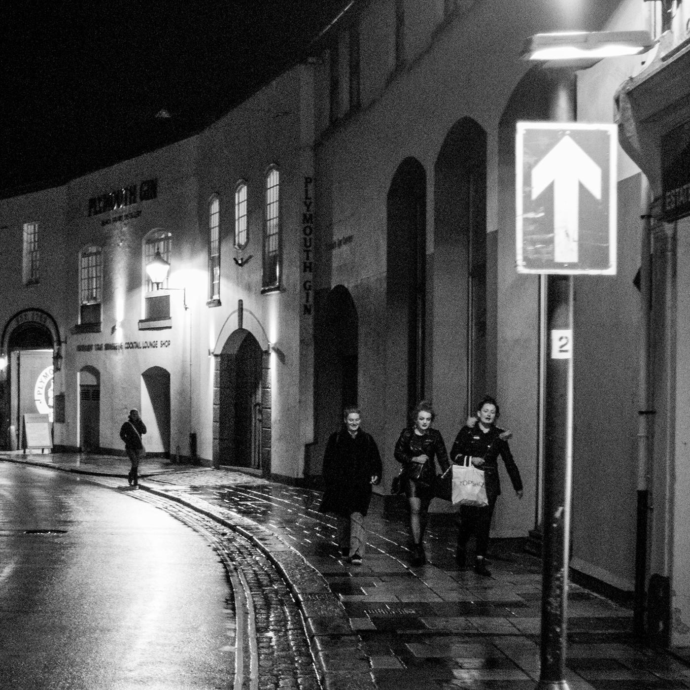Street Life after dark.