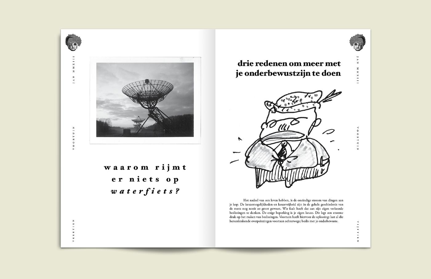 Indiemag Independent magazine issue stack award Zine  voortuin