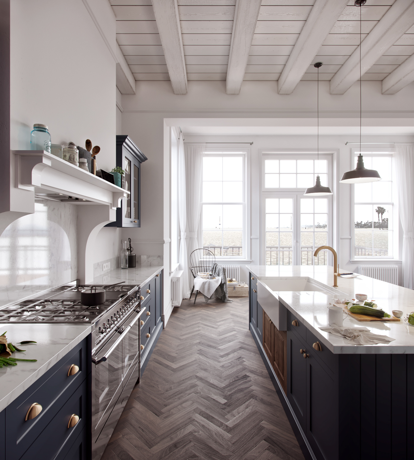 The Best 100+ American Style Kitchen Design Image Collections ...