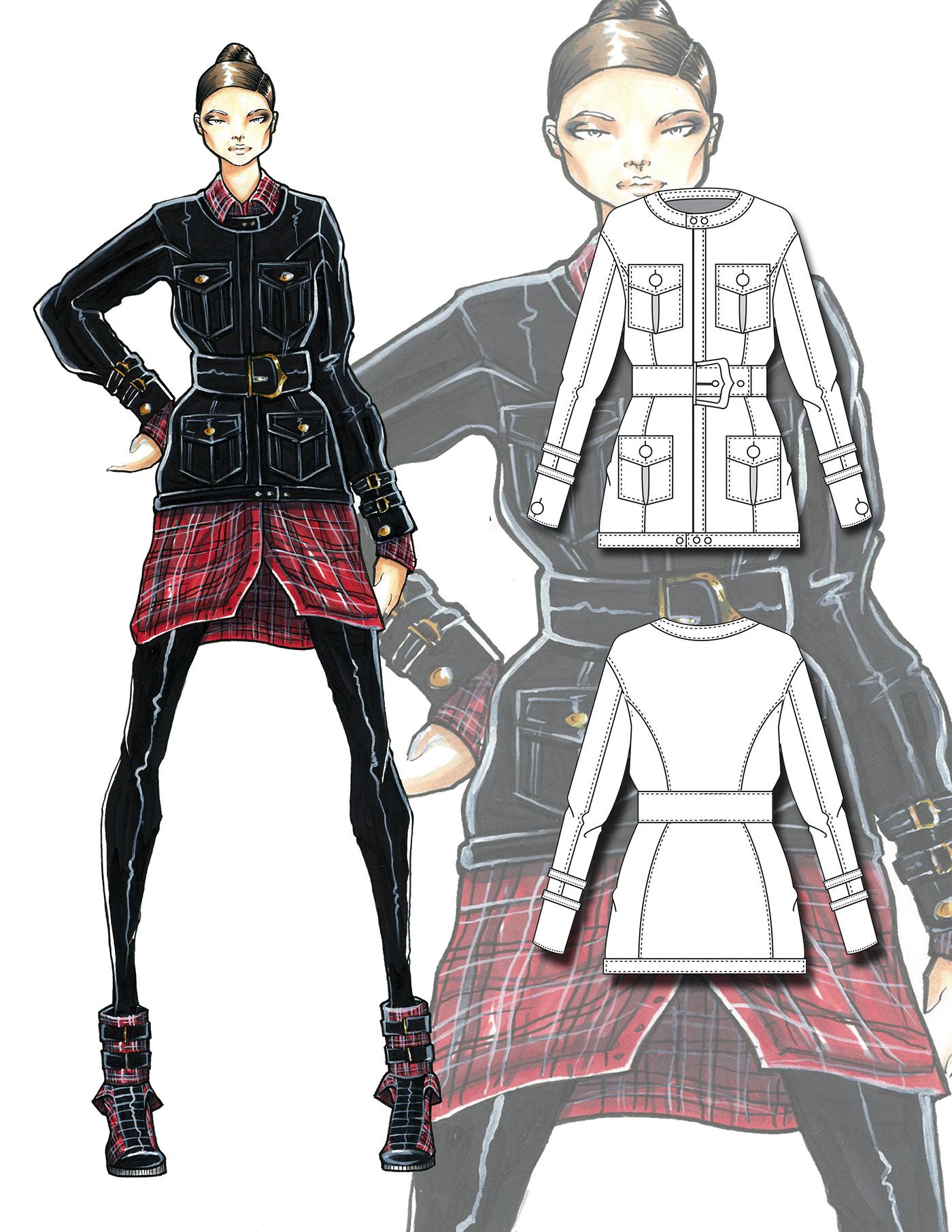 豐富的35款衣服設計圖欣賞