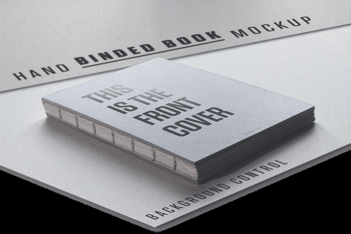 Hand Binded Book Mockup On Behance