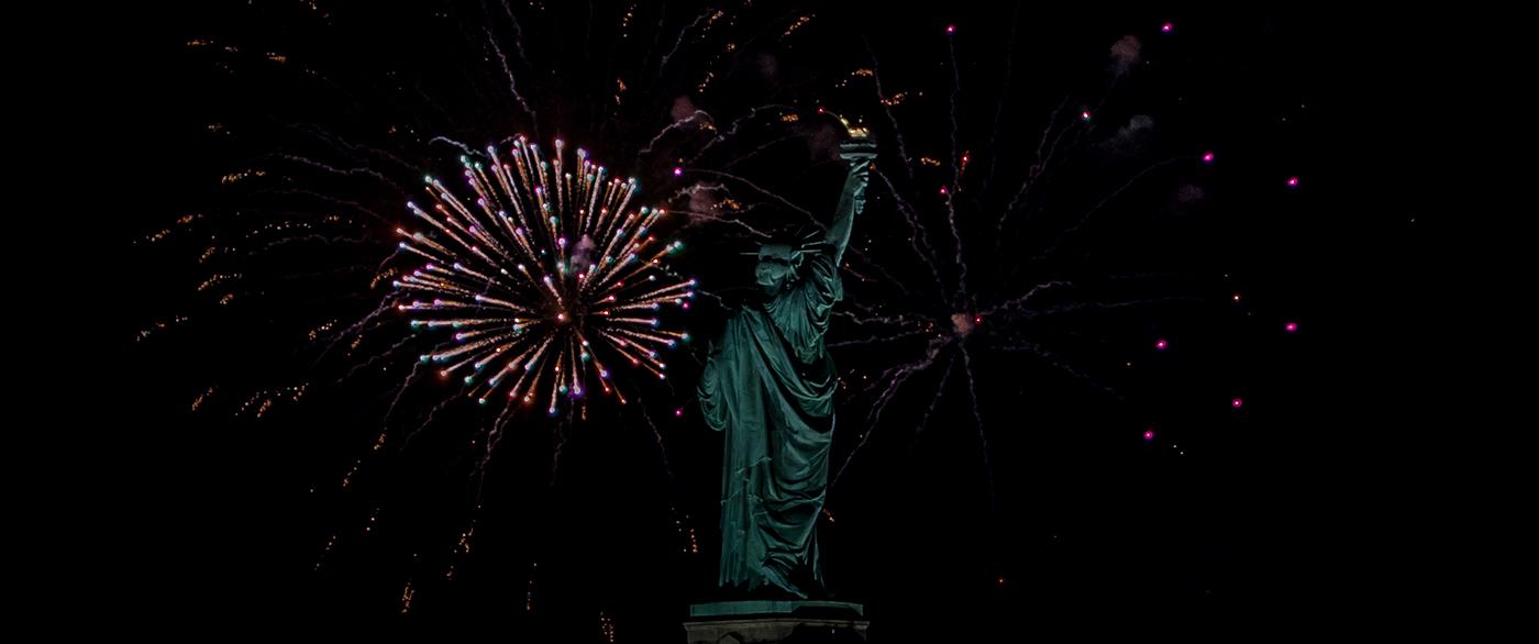 New York nyc Liberty fireworks newyears statueofliberty new years gh4 micro 4/3 Manhattan colors Beautiful Holiday Lumixlounge
