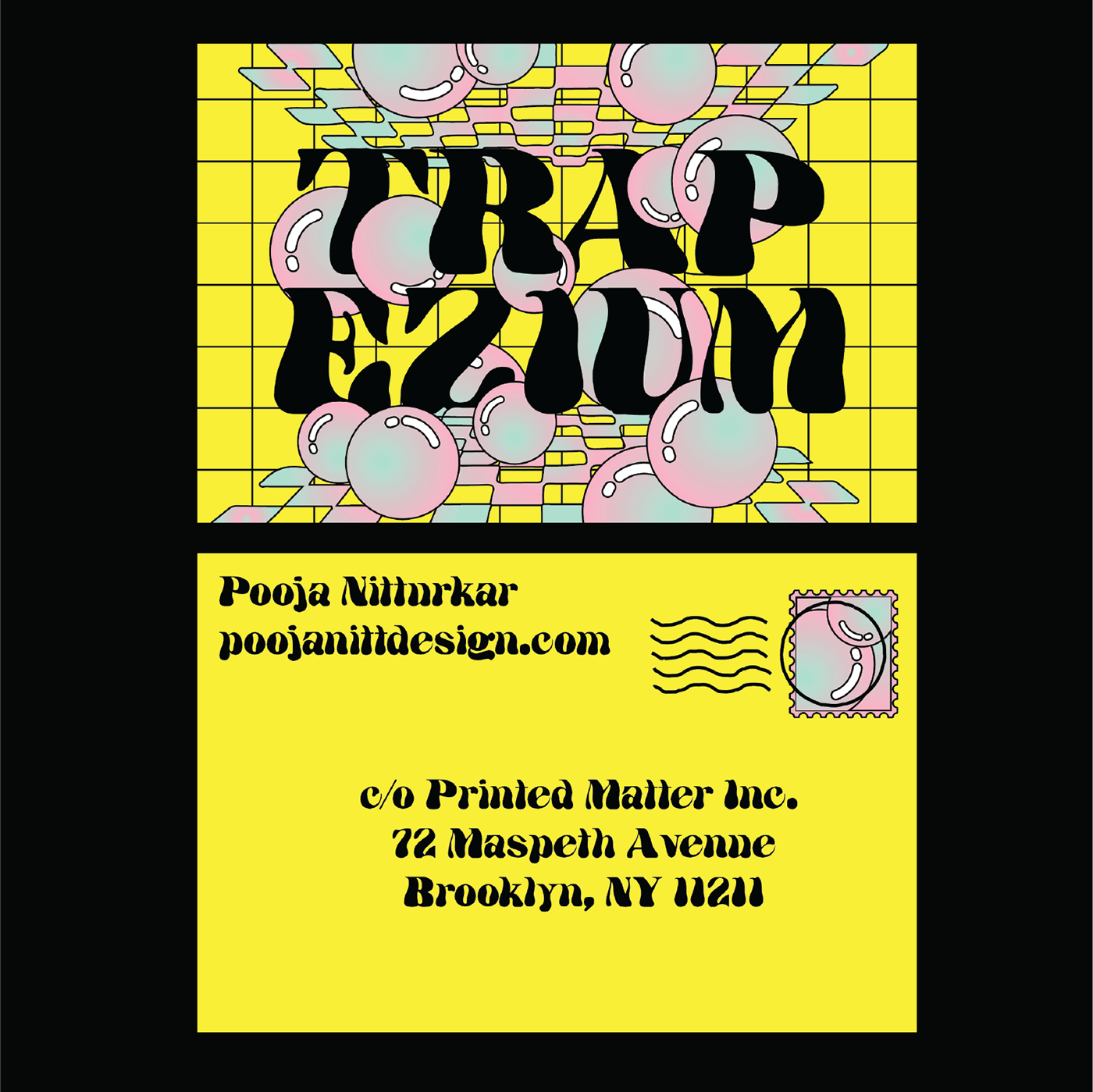 graphic design  ILLUSTRATION  mail art postcards printed matter