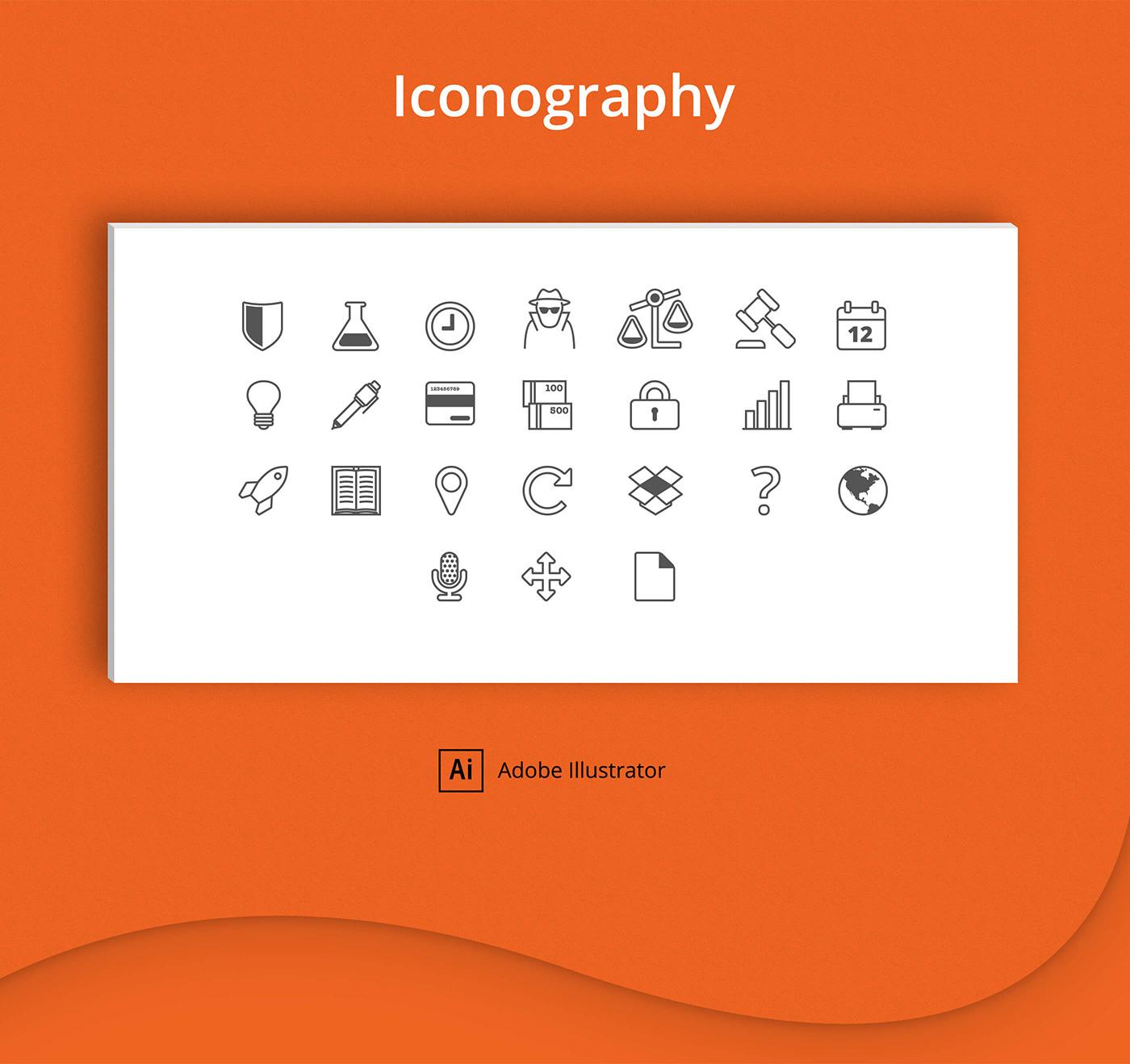 Webdesign logo judge advocate paper polygraphy science