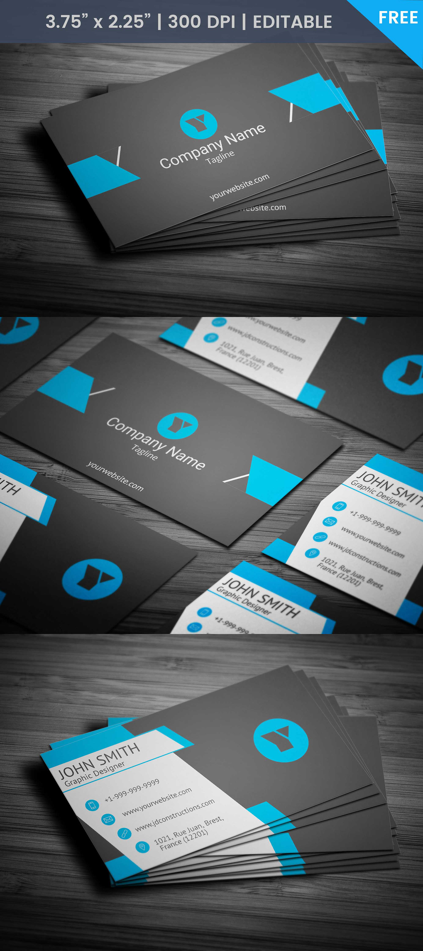 Nautical Business Card on Behance