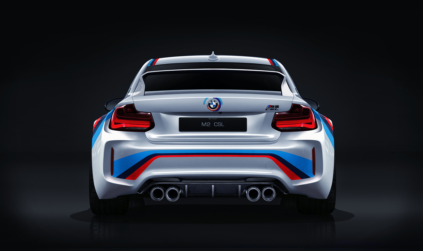 Bmw M2 Csl On Behance