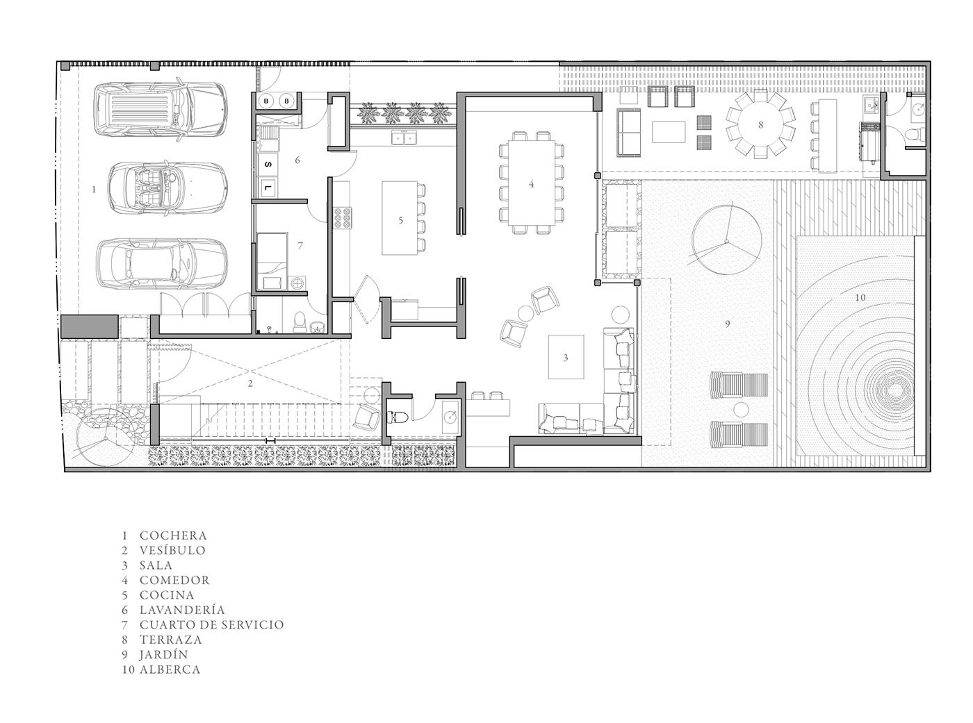 house,design,monterrey,Residence