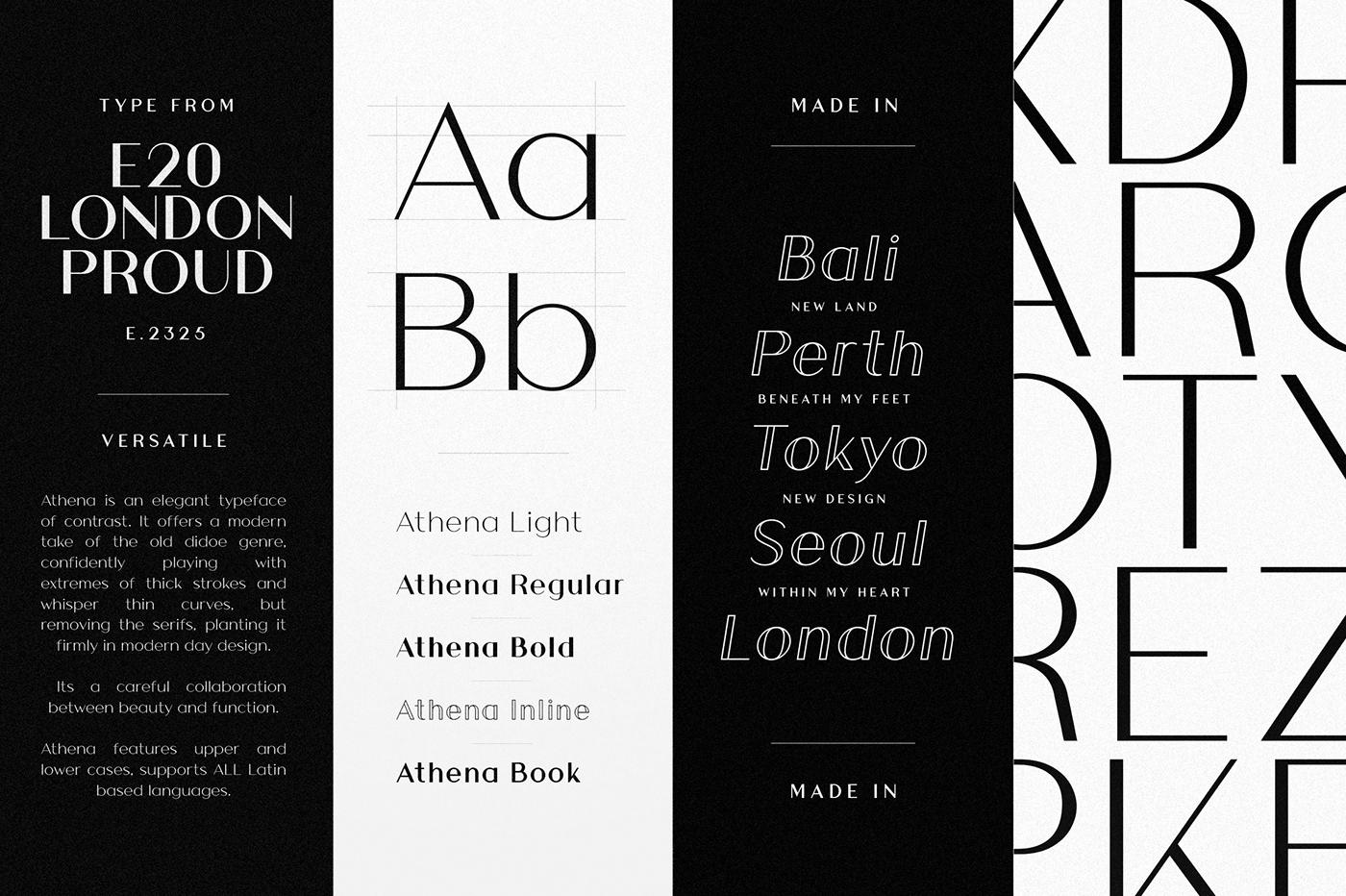 BRANDING LOGOS MINIMAL BOLD THIN FASHION SIMPLE BROADWAY free font download Headline sans serif minimal Typeface