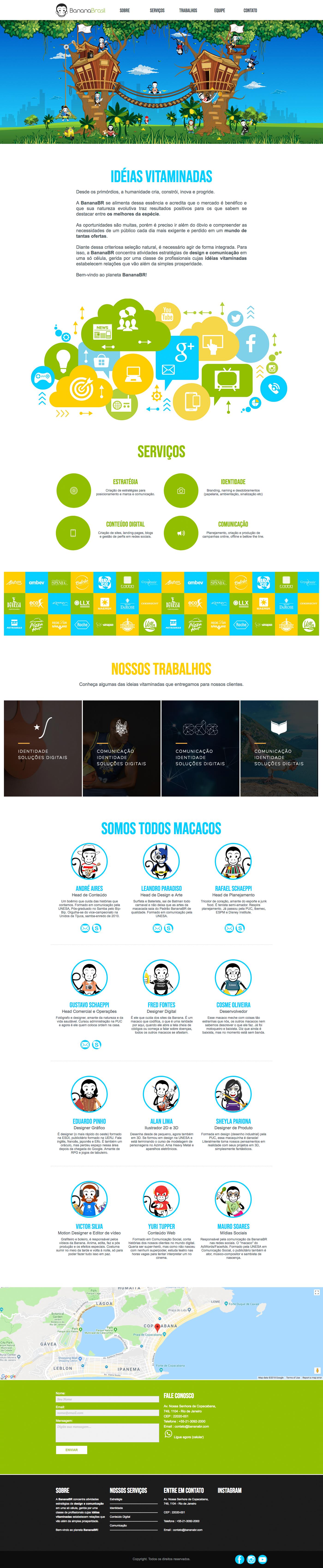 site muse Responsive Adaptive mobile agency digital Brazil