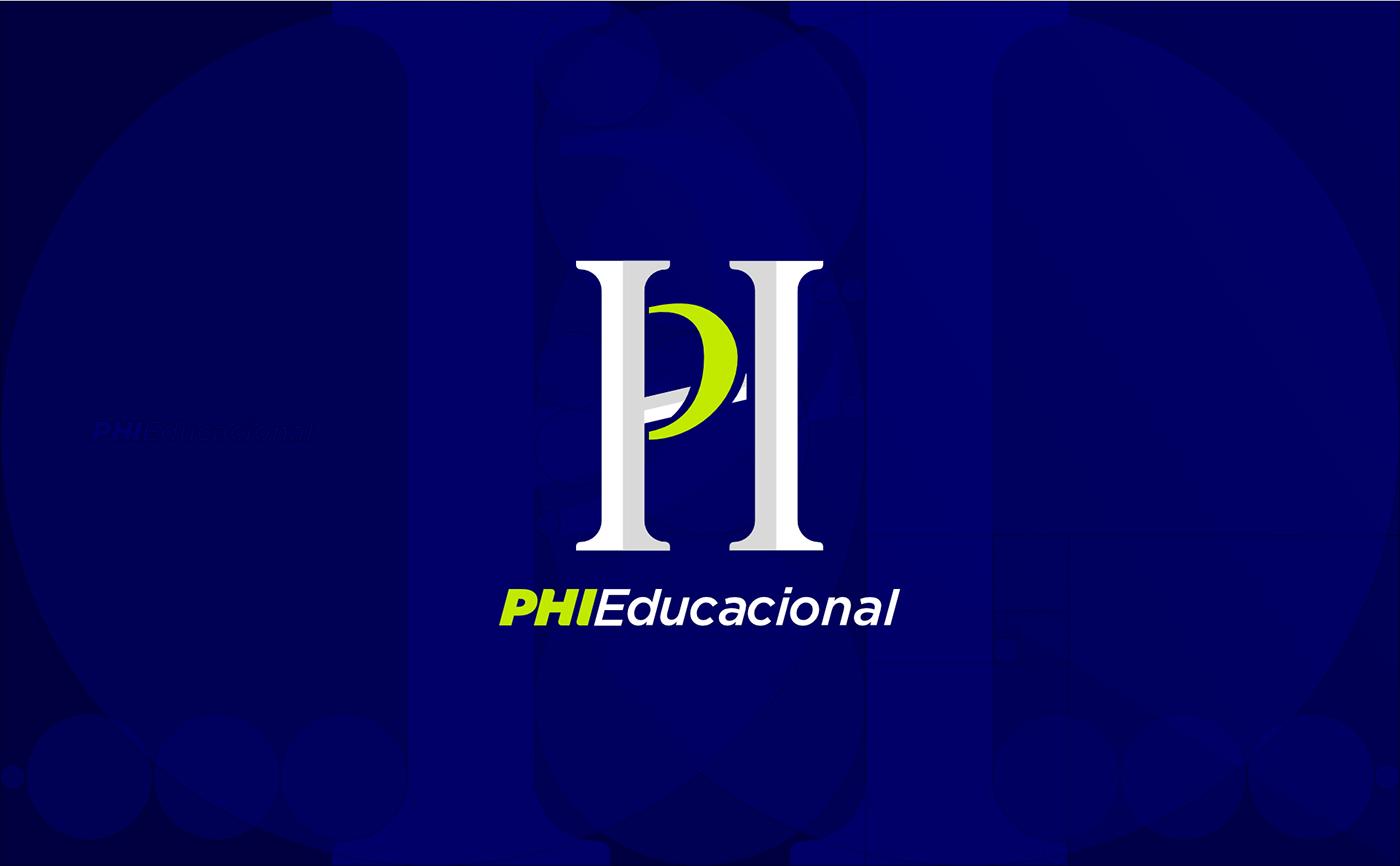 Proporção Áurea Golden Ratio logo educação Education