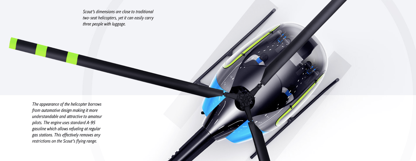 Scout Helicopter On Behance