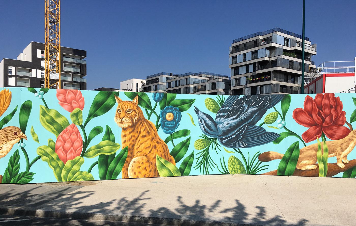 saddo colorful mural